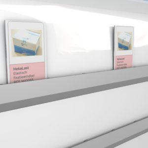 RFID chipkaart voor het digitale planbord